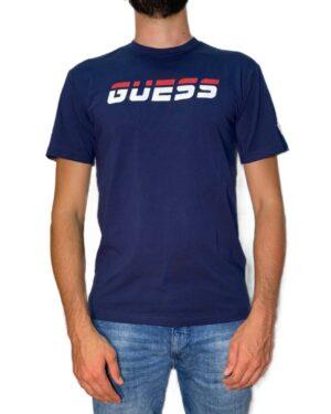 T-shirt Guess blu